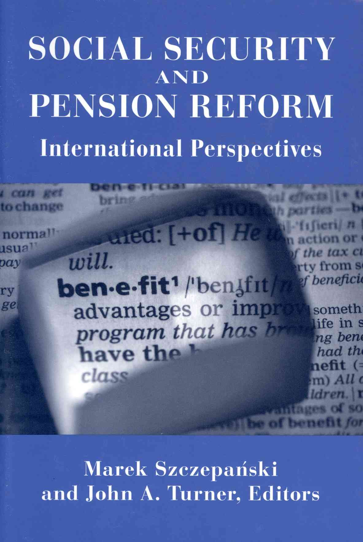 Social Security and Pension Reform By Barnow, Burt S. (EDT)/ Hobbie, Richard A. (EDT)