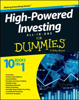 High-powered Investing All-in-one for Dummies By Consumer Dummies (COR)